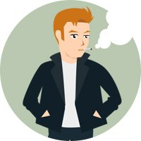 Quit smoking, vaping style