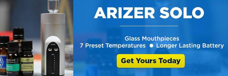 Arizer Solo Portable Vaporizer - CTA