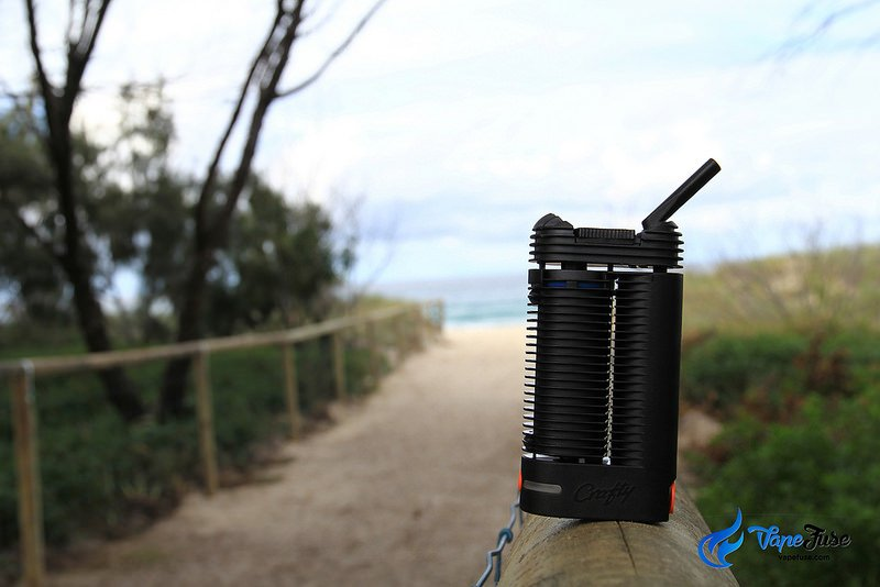 Crafty Portable Vaporizer on the beach