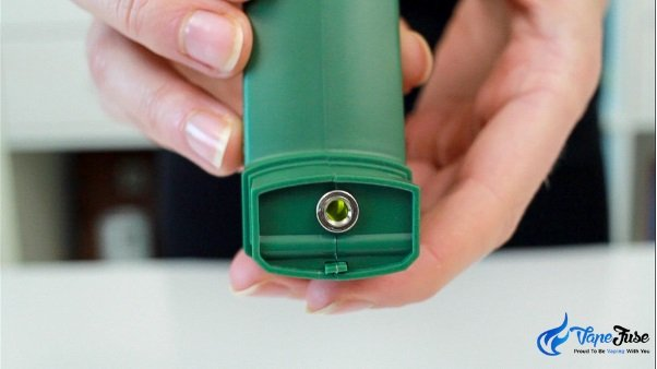 PUFFiT X Portable Vaporizer is ON