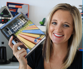 Michelle Holding VapeFuse Buying Guide Book