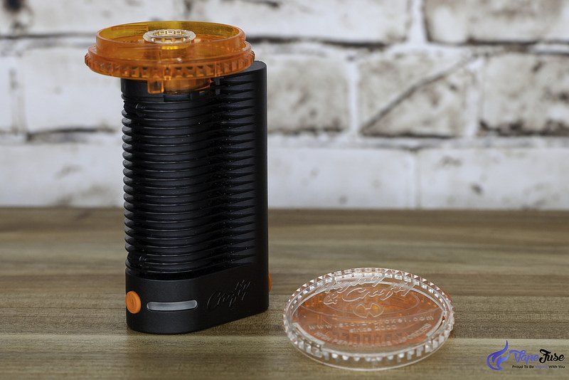 Crafty Portable Vaporizer with filling aid