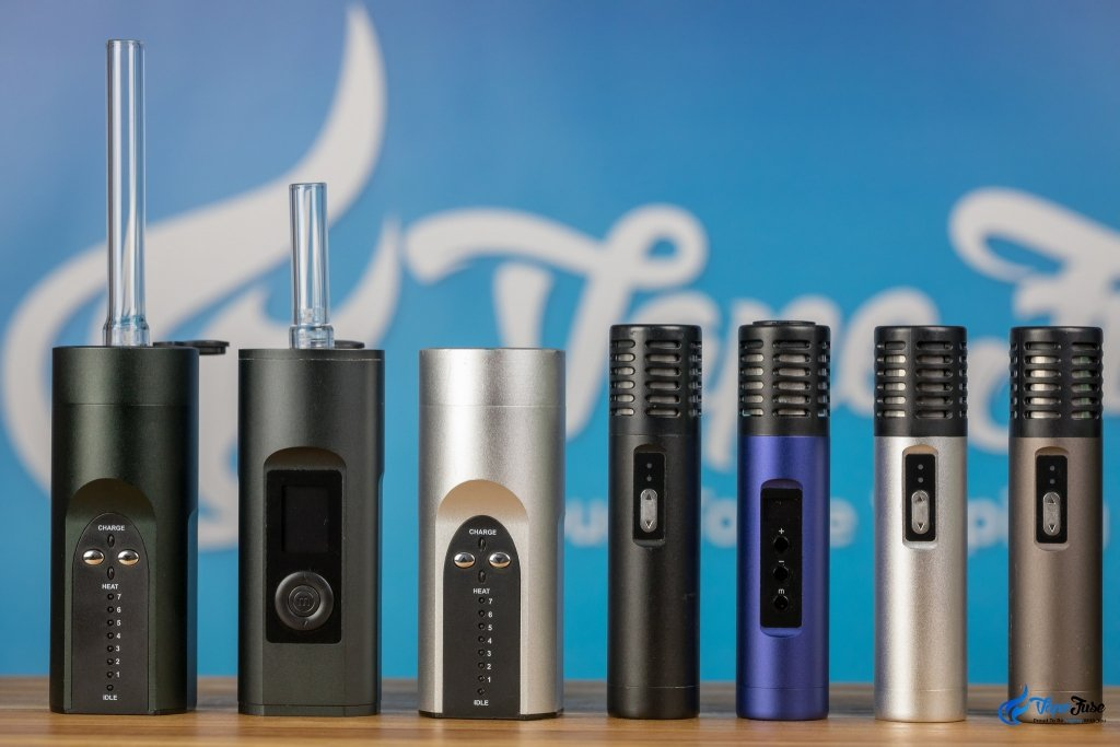 Arizer Solo, Solo II, Air and Air II Portable Vaporizer Range