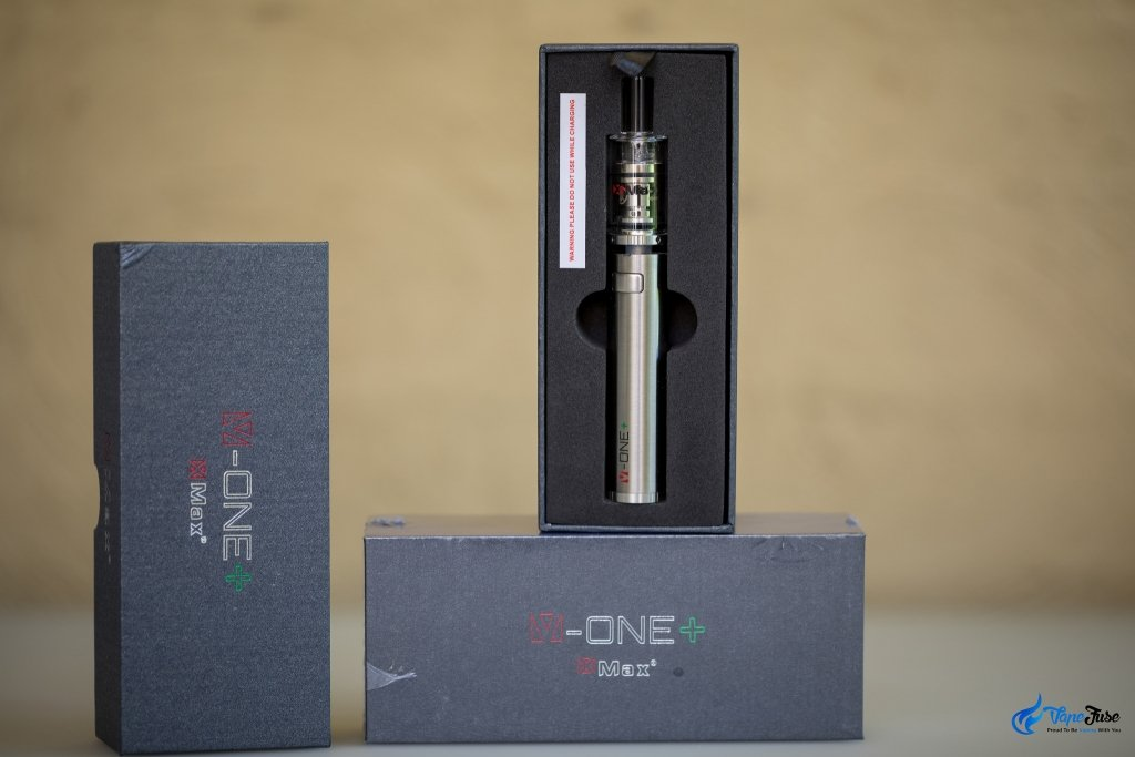 X Max V-One Plus Concentrate Vaporizer in the box