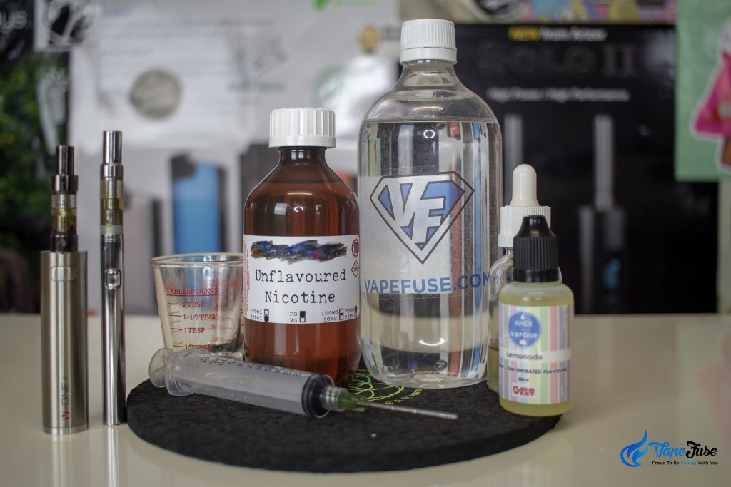 All you need for your DIY e-Juice