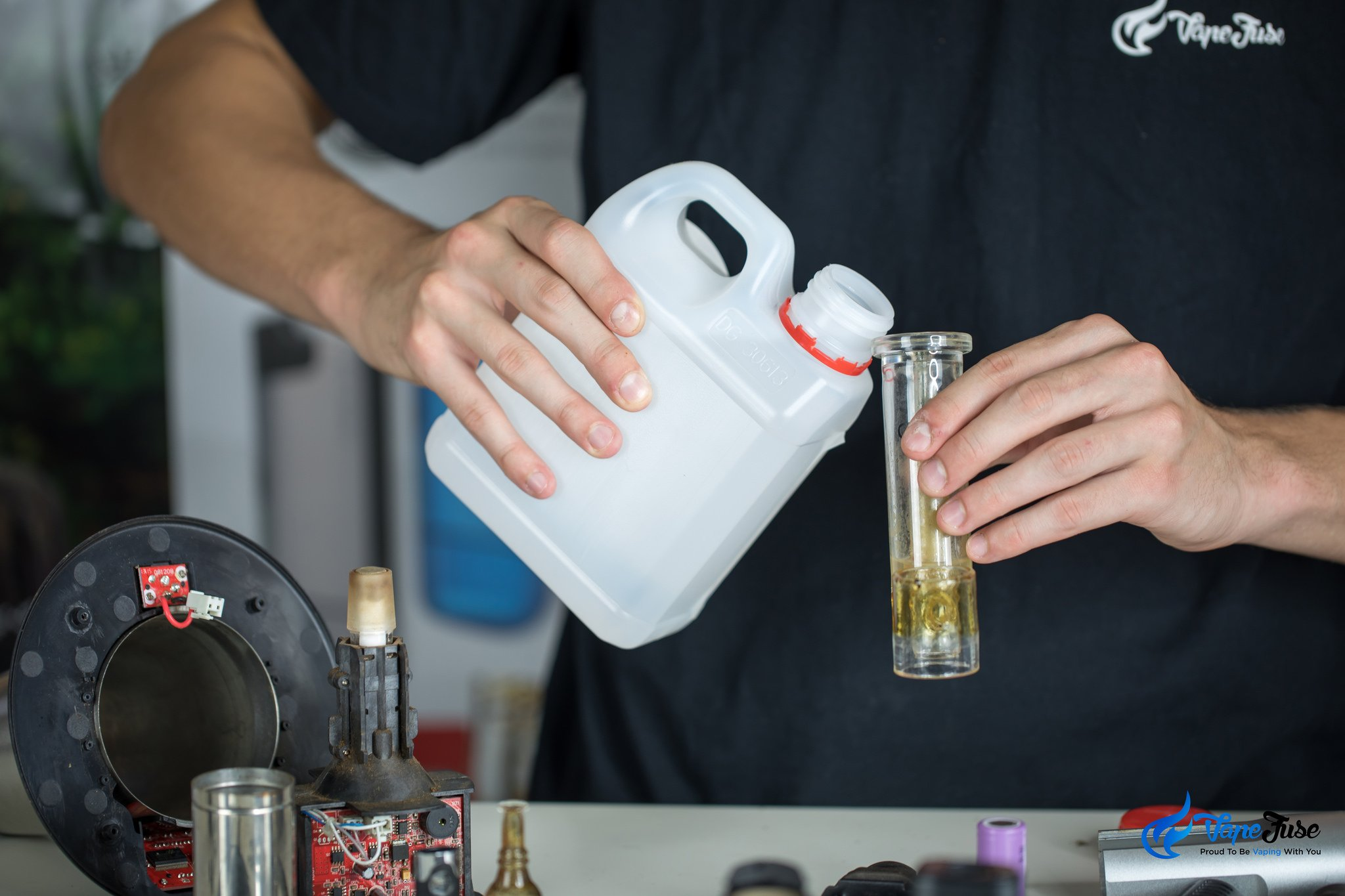 Cleaning and maintaining herbal vaporizers