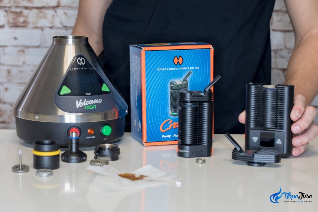 liquid pad is among the Storz & Bickel line of vaporizers