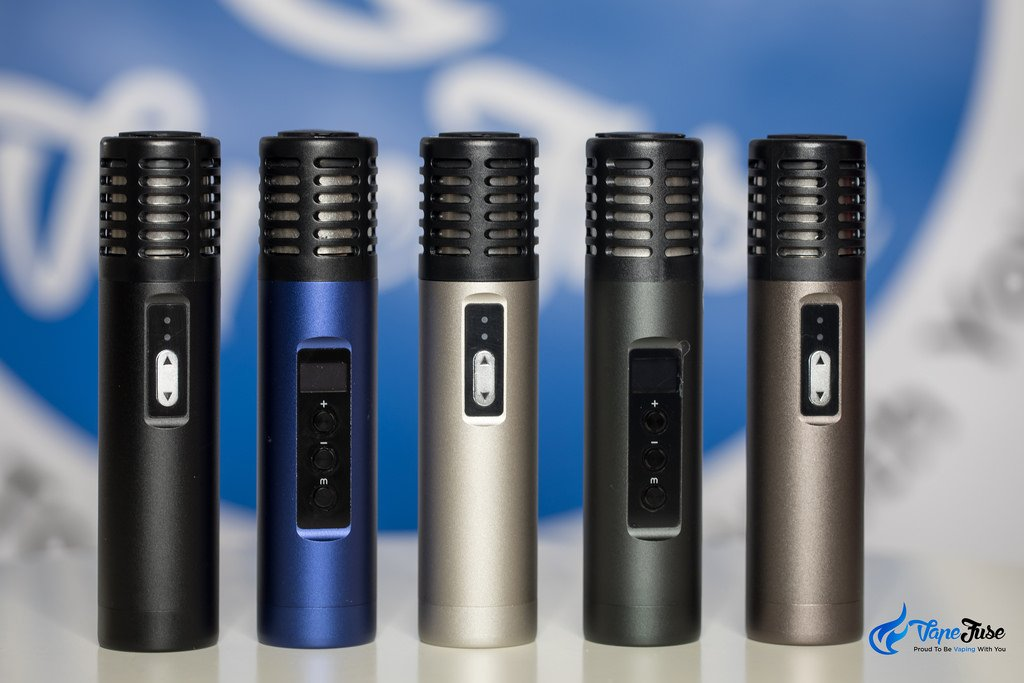Airzer Air Portable Vaporizers (Combination of Air and Air II Colours)
