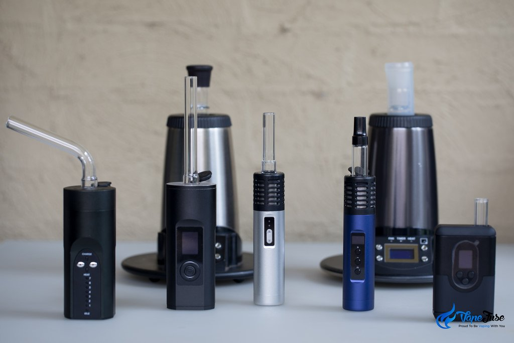 Arizer Desktop and Portable Vaporizer Range