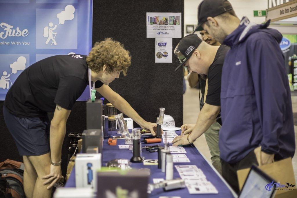 Hemp Health & Innovation Expo - VapeFuse Booth