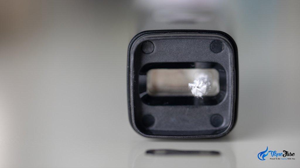 Square Dual Mode Digital Portable Vaporizer- air hole